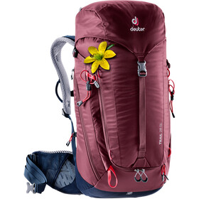 deuter Trail 28 SL Backpack Women maron-navy
